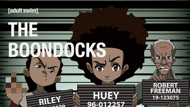 THE BOONDOCKS SEASON 1 ON NETFLIX!!!!!