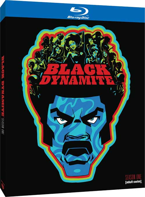 BLACK DYNAMITE SEASON 1 BLU RAY/DVD ARRIVES JULY15th!!!!