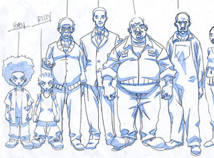 BOONDOCKS PRODUCTION ART: THE KATRINIANS!
