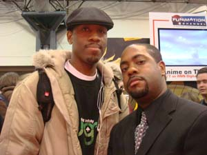 Me and POPCULTURESHOCK.com's Howard Brown.