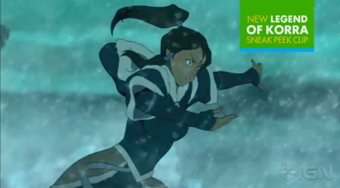 LEGEND OF KORRA : Book 2 FIRST LOOK!