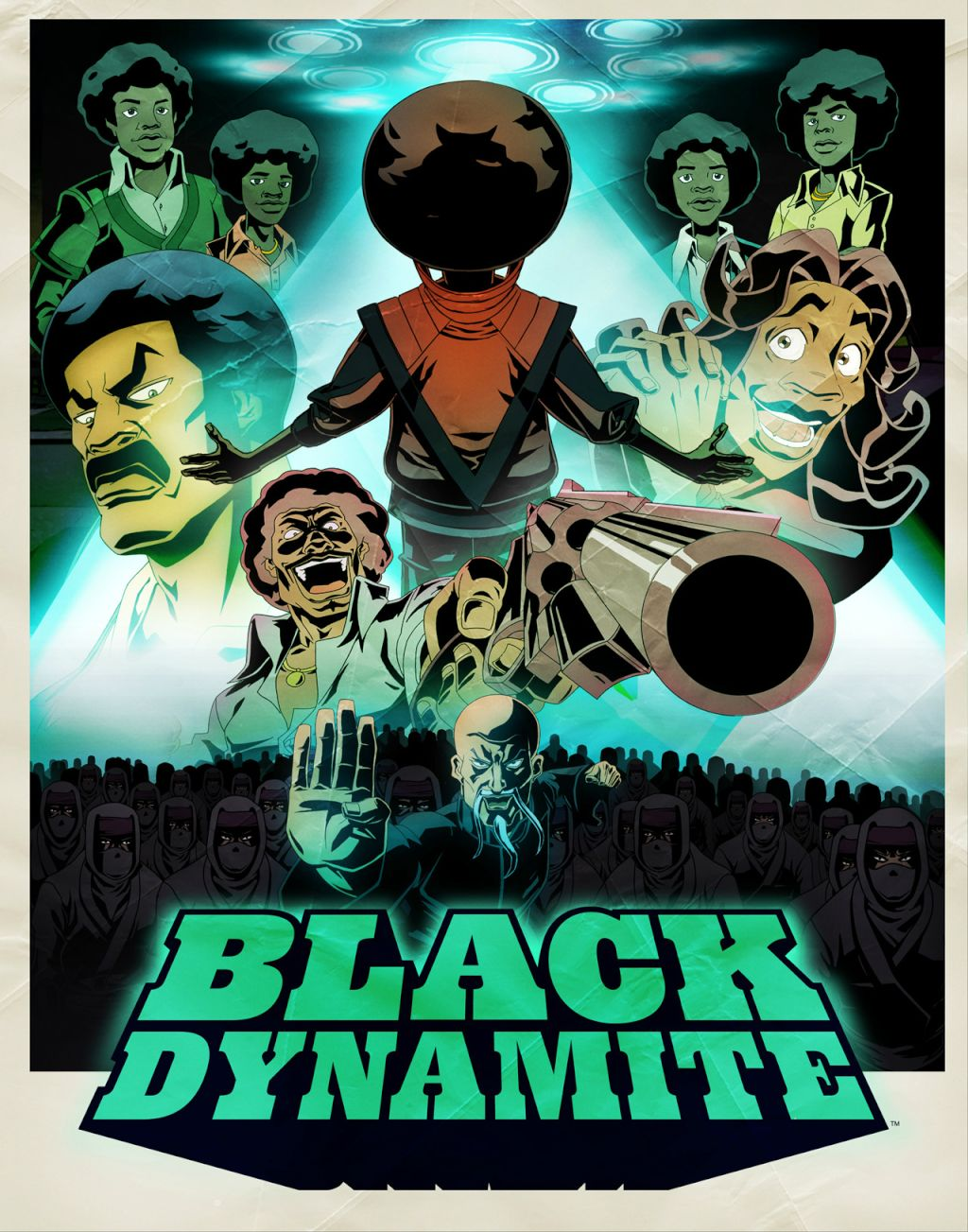 BLACK DYNAMITE EPISODE PREMIERE #1 on ADULT SWIM!