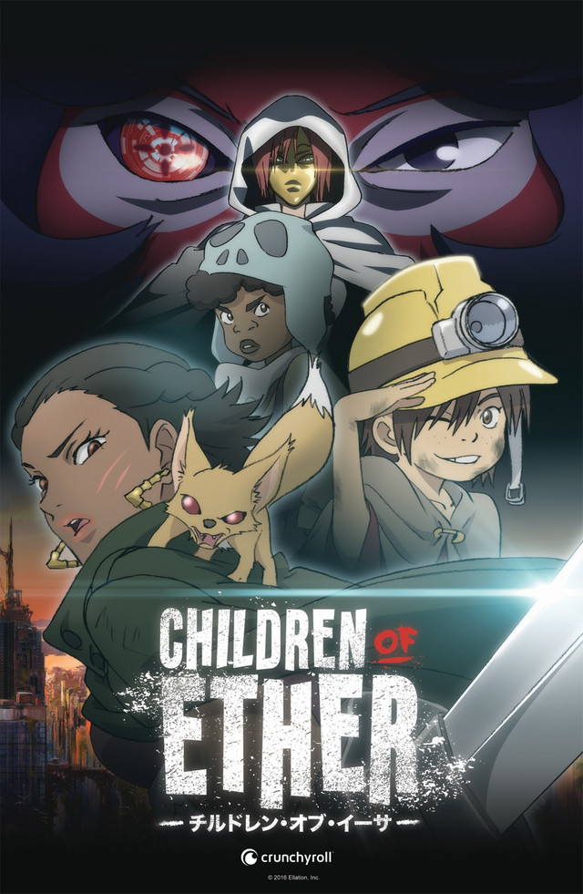 "LeSean Thomas & Crunchyroll joins forces with ""CHILDREN OF ETHER"" ANIME!"